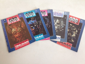 Batman Shaman 1,2,3,4 E 5. Editora Abril