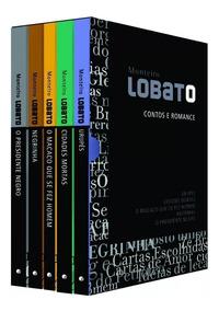 Caixa De Livros Monteiro Lobato Contos E Romances
