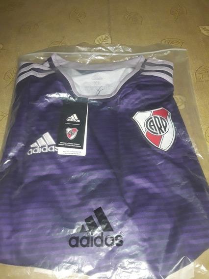 Camiseta River Plate Suplente Violeta 2018/19
