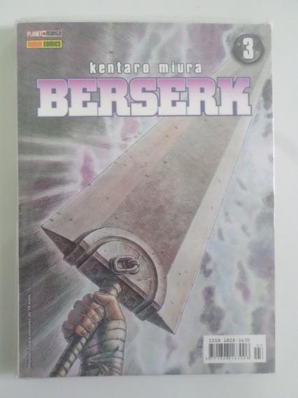 Manga Berserk 3 Novo E Lacrado Raro Edição Antiga