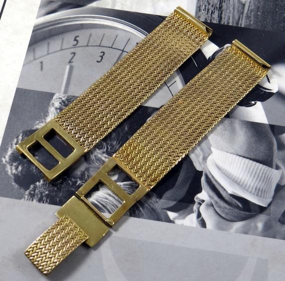 Pulseira Relógio Ouro 18k 44g - 18 Cm - Pino 18mm