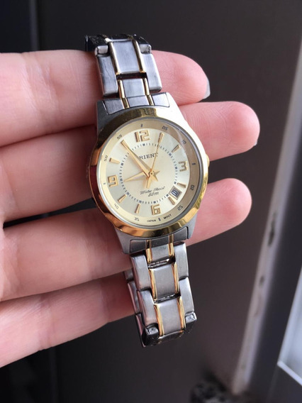 Relógio Orient Ouro Original