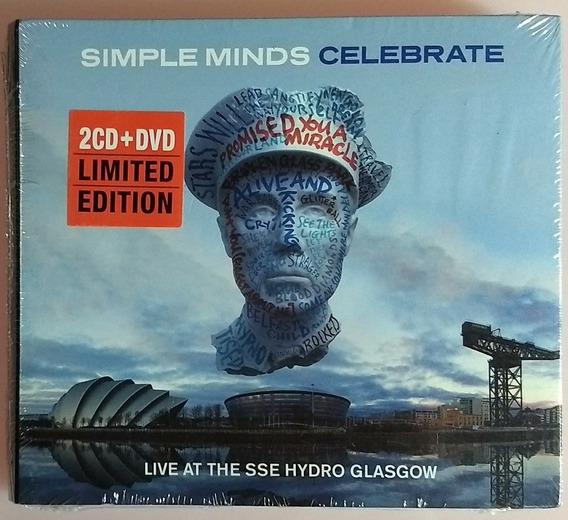 Cd Dvd Simple Minds Celebrate - Novo/lacrado