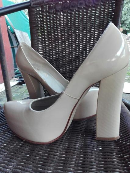 Zapatos Vercal N°38 Impecables Un Solo Uso