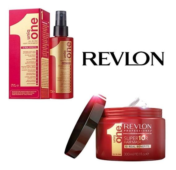 Spray Uniq One Revlon 150ml + Mascara Uniq One Revlon 300ml