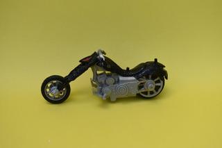 Motocicleta Spiderman Negro