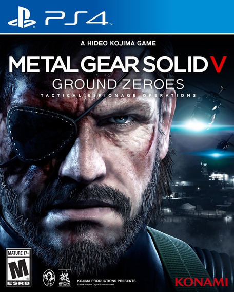 Ps4 Metal Gear Solid V : Ground Zeroes