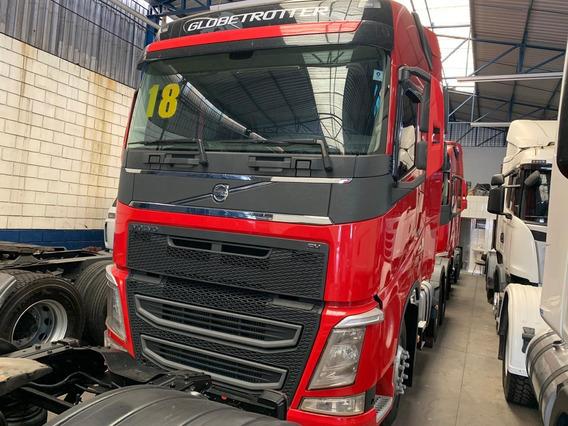 Caminhão Volvo Fh 540 6x4 Ano 2018 Vermelho Novo
