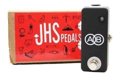 Pedal Seletor De Canal Jhs A/b Box Mini Ab-box Brindes Fonte