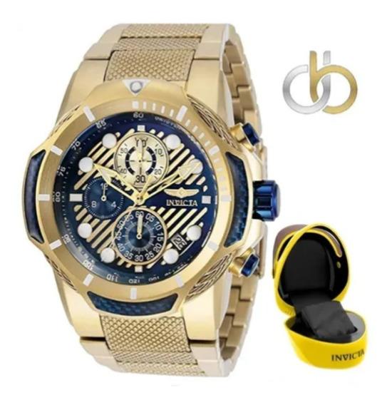 Relógio Invicta Bolt 31177 Original Swiss + Caixa Capacete