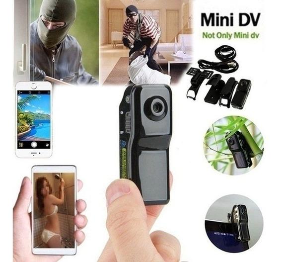 Md80 Mini Dv Camcorder Dvr Câmera De Vídeo Motocicletas Ca