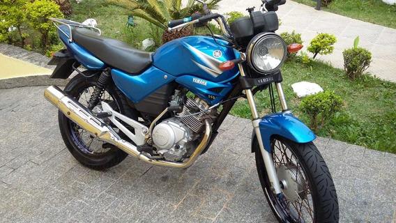 Moto Yamaha Ybr 125 K Ano 2005 Azul