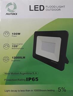 Reflector Led 100w Alta Potencia Ext Ip65