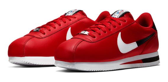 zapatillas nike cortez mujer rojas