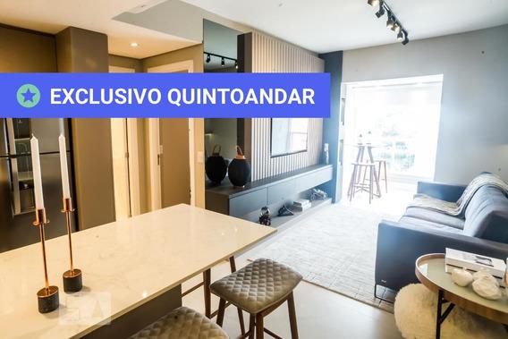 Apartamento No 15º Andar Mobiliado Com 1 Dormitório E 1 Garagem - Id: 892947539 - 247539