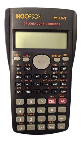 Calculadora Para Faculdade Multifunçao Cientifica Preta Boa