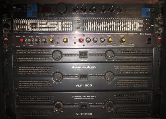 Amplificador American Audio Vlp 1500 Vlp 300
