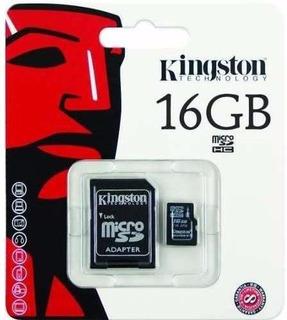 Tarjeta De Memoria 16gb Microsd Kingston Technozone2.0
