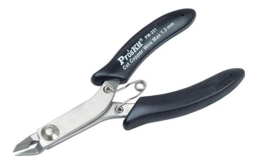 Alicate Micro Corte Precision Cobre 122mm Proskit 251