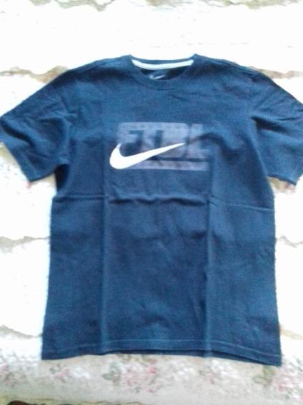 Blusa Nike Ftbl Footboll Azul Menino Masculino Camiseta