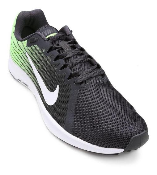Tenis Nike Downshift 8 Preto/verde