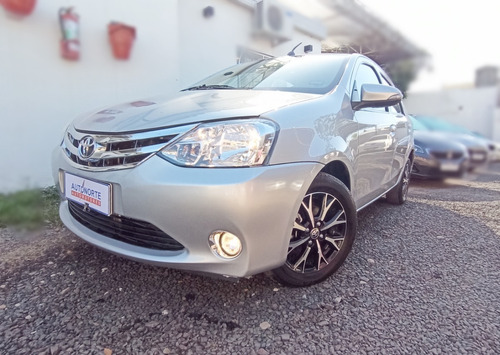 Toyota Etios Platinum 4pts At 2017