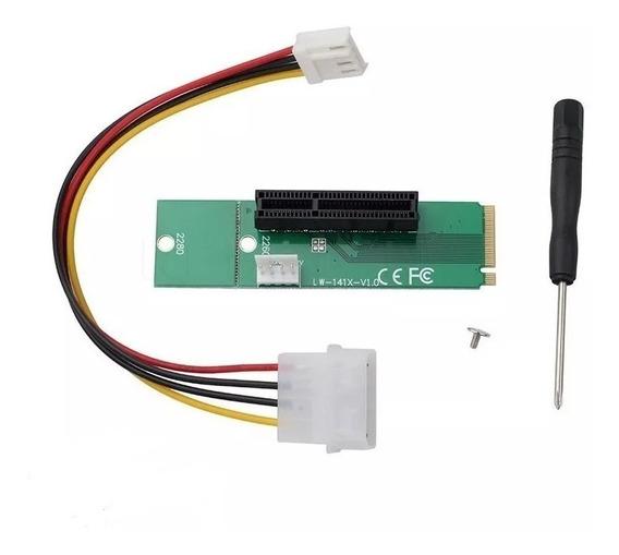 Adaptador M2 Para Pci Express X4/x1 Pronta Entrega