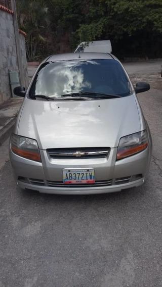 Chevrolet Aveo 1.6 Sincronico Color Plata 3 Puertas
