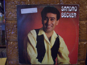 Vinil Lp Sandro Becker - 1992