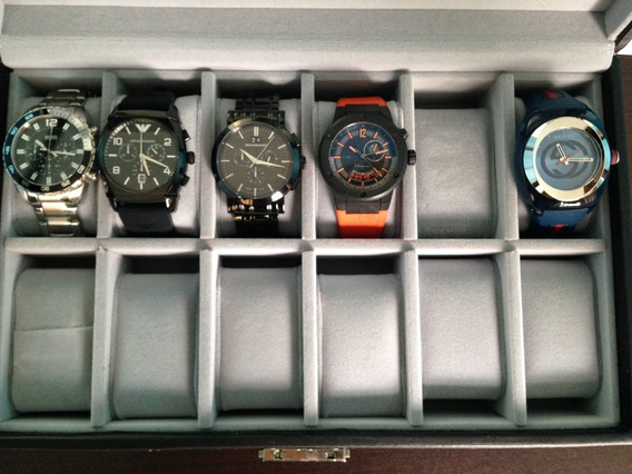 Relojes Marca Armani Gucci Burberry Boss Originales
