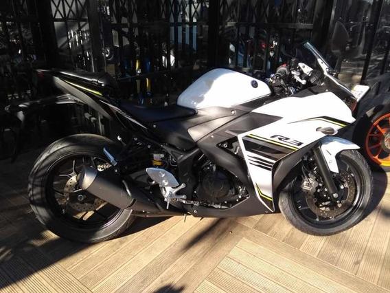 Yamaha Yzf R3 Branca 2018