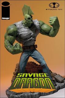 Savage Dragon: Image. 10th. Anniversary. Mcfarlane Toys.
