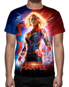 Camiseta Filme Capitã Marvel Mod 03 - Estampa Total