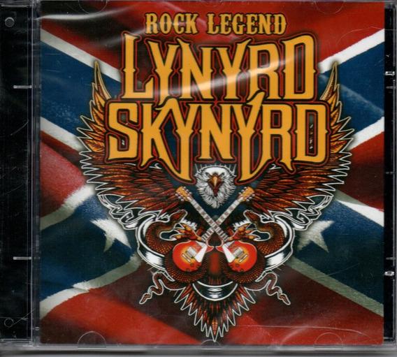 Cd Lynyrd Skynyrd - Rock Legend