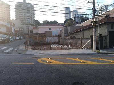 Terreno Para Alugar, 370 M² Por R$ 13.000/mês - Santana - São Paulo/sp - Te0003
