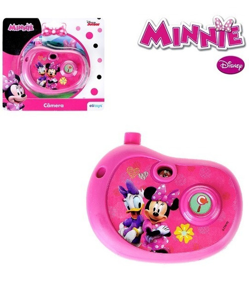 Camera Fotografica Infantil Minnie Com Imagem Top