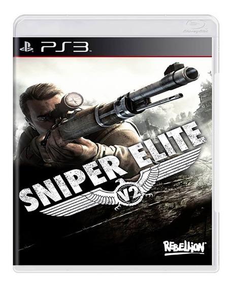 Sniper Elite V2 Ps3 Mídia Física Novo Lacrado