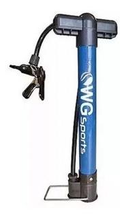 Bomba De Ar Mini Wg Sports Bomba De Pé 30 Cm Bike Bicicleta