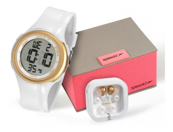 Kit Relógio Speedo Feminino Digital 80587l0evnp1k1