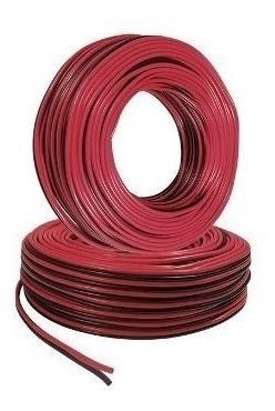 Cable Bicolor Para Equipo Bocinas Automovil 18 Awg 100 M
