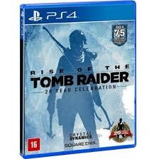 Jogo Rise Of The Tomb Raider 20 Year Celebration Física Ps4