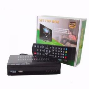 Conversor De Tv Digital Sinal Isdb-t Top Box Gravador Usb