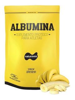 Albumina C/ Sabor (500 G) - Naturovos