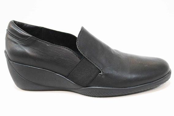 Zapato Cuero C/ Elástico. Taco Chino Art 120. Marca Alen