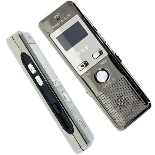 Gravador De Voz Com Fone Ouvido Audio Digital Gravadores Bd2