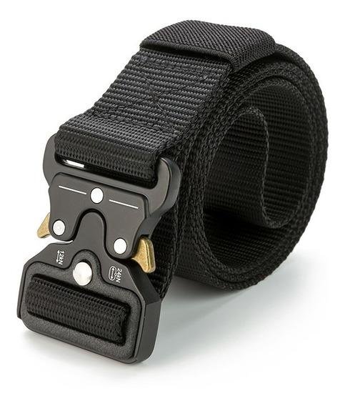 Cinturón Táctico Tipo Asalto Militar Tamaño Ajustable 125 Cm