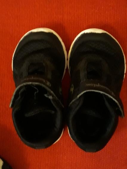 Zapatillas Champion Negras N° 20