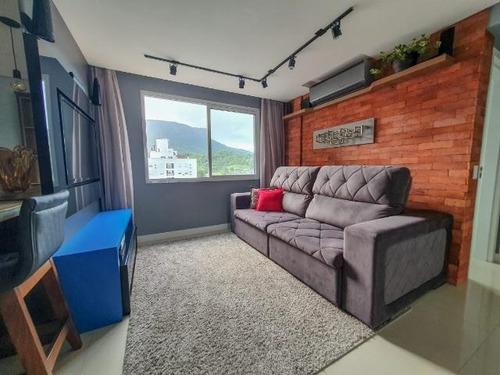 Apartamento Com 1 Dormitório À Venda, 63 M² Por R$ 383.000,00 - Cidade Universitária Pedra Branca - Palhoça/sc - Ap8324