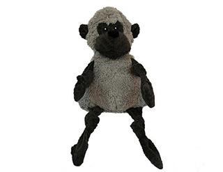 Hugglehounds Felpa Durable Pana Gorila Knottie, Pequeño, Gri