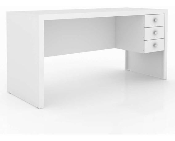 Mesa P/escritório Tecno Mobili Me-4113 Branco